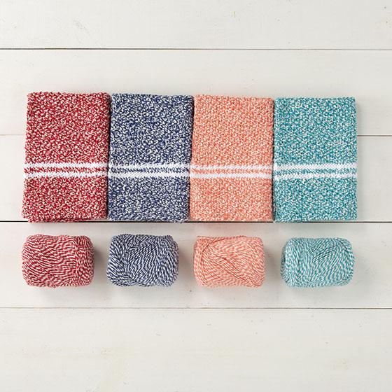 Dish Towel Set Pattern - Knitting Patterns and Crochet ...