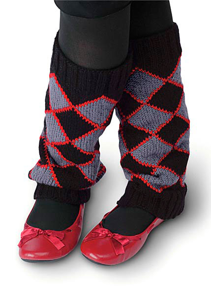 Argyle Legwarmers Pattern Knitting Patterns And Crochet Patterns