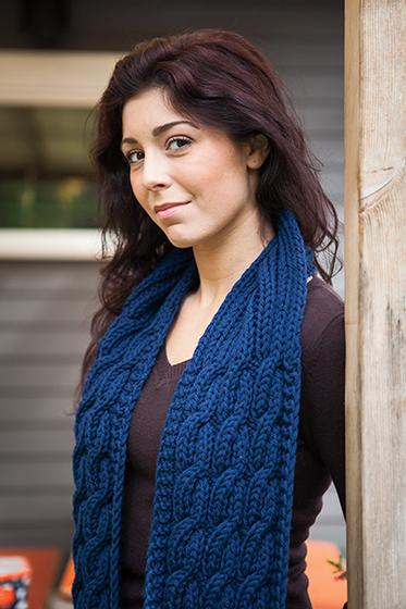 Knitting Pattern For Seaman s Scarf : Seamans Scarf Pattern - Knitting Patterns and Crochet Patterns from Knit...
