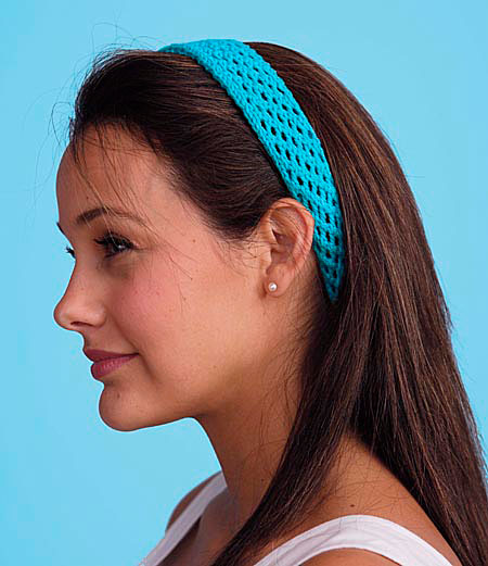 Lacy Headbands Pattern Knitting Patterns And Crochet Patterns From