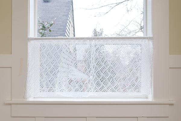 Lace Café Curtain Pattern - Knitting Patterns and Crochet Patterns ...