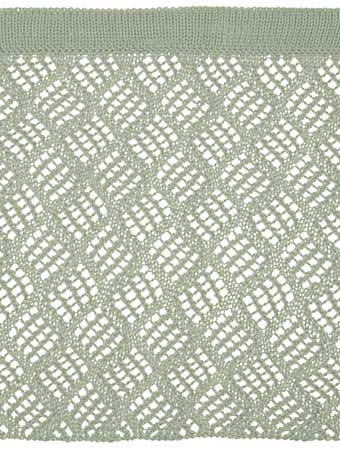 Free Knitting Patterns For Lace Curtains : Dappled Lace Cafe Curtain Pattern - Knitting Patterns and Crochet Patterns fr...