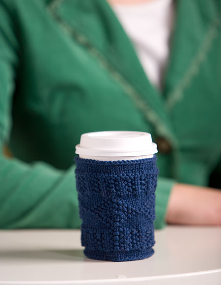 Cup Cozy Pattern - Knitting Patterns and Crochet Patterns from ...