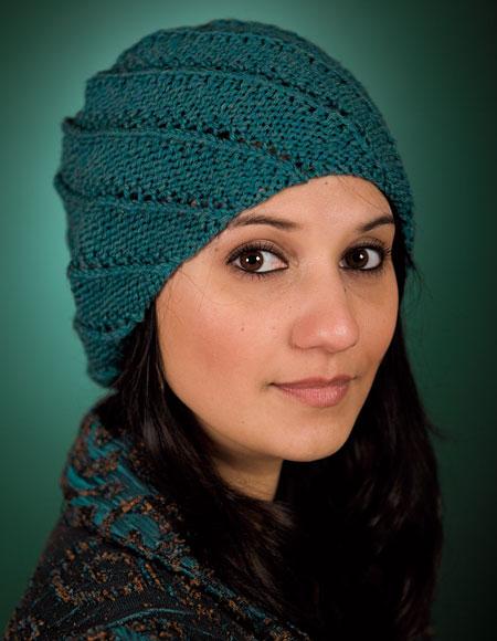 Spiral Rib Cap Pattern - Knitting Patterns and Crochet ...