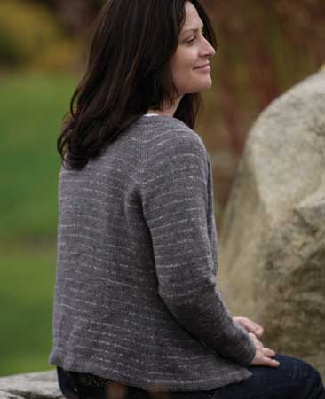 Classic Lines Cardigan Pattern Knitting Patterns And Crochet