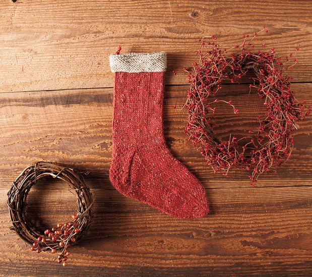 Holiday Stocking Knitting Patterns And Crochet Patterns From