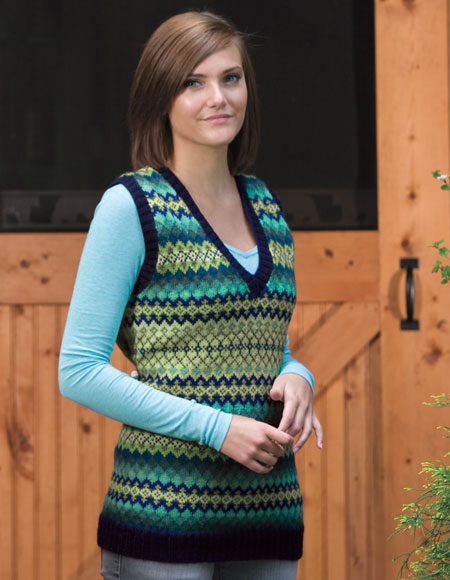 Corrie Vest Pattern - Knitting Patterns and Crochet Patterns from ...