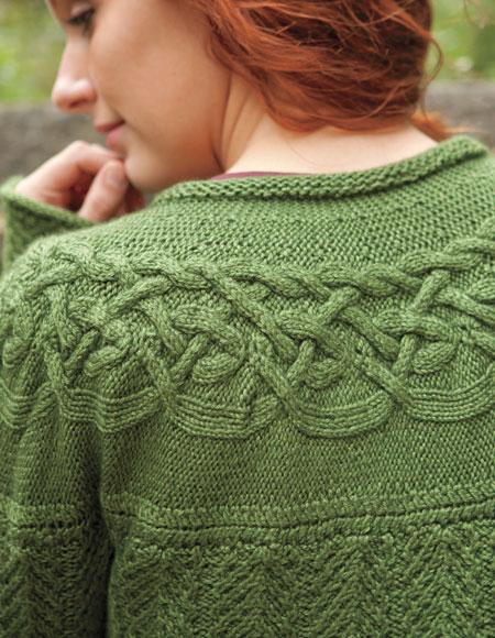 Circlet Cardigan Pattern - Knitting Patterns and Crochet Patterns ...