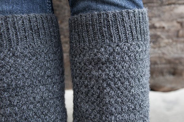 Leg Warmers Knitting Pattern In The Round : Defroster Leg Warmers - Knitting Patterns and Crochet Patterns from KnitPicks...