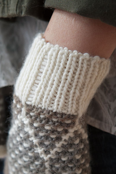 Honeycomb Scarf Toque and Mitts - Knitting Patterns and Crochet Patterns from...