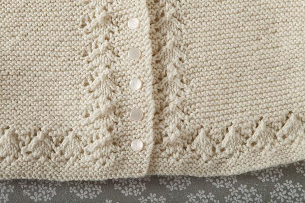 Heirloom Layette- Blanket Bonnet Sweater - Knitting Patterns and Crochet Patt...