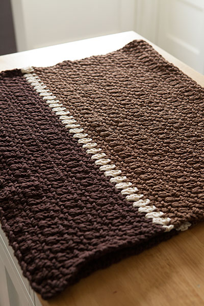 Crocheted Kitchen Rug Knitting Patterns And Crochet Patterns From