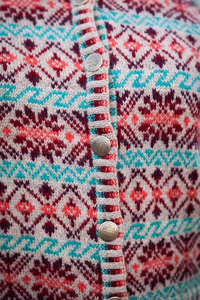 Knitting Holidays Shetland : Shetland rose cardigan knitting patterns and crochet