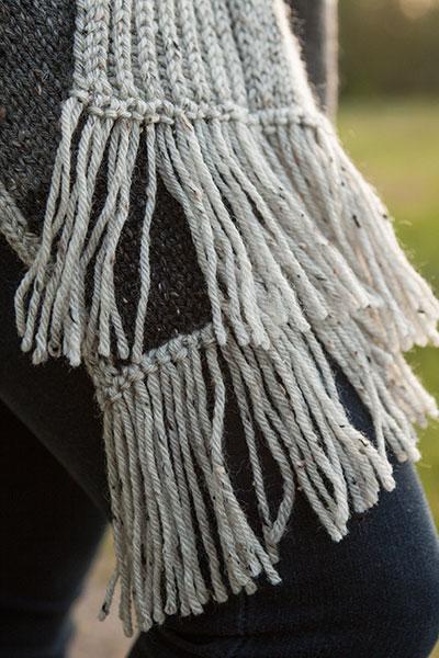 Knit Picky Free Patterns : Oakwood Poncho - Knitting Patterns and Crochet Patterns from KnitPicks.com by...