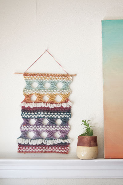 Braque Wall Hanging Knitting Patterns And Crochet