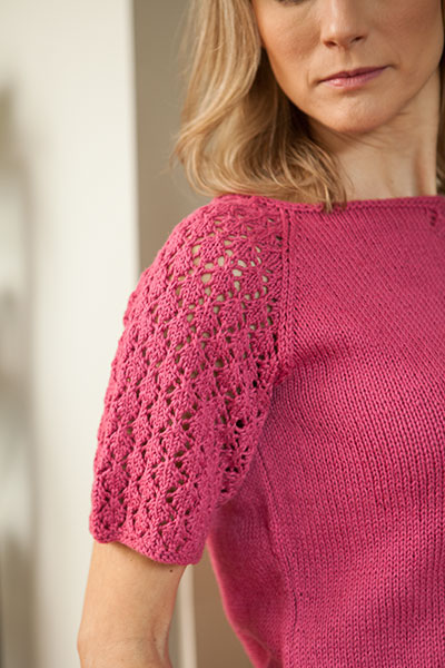 Knit Picky Patterns : Berries Top - Knitting Patterns and Crochet Patterns from ...