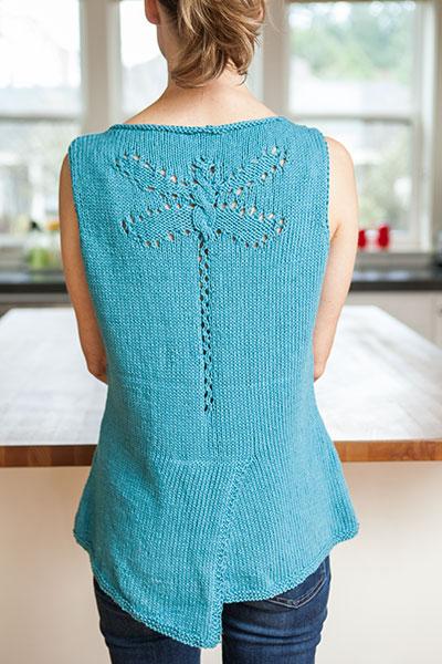 Large Dog Jumper Knitting Pattern : Dragonfly Tank Top - Knitting Patterns and Crochet Patterns from KnitPicks.co...