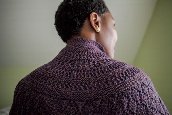 Half Moon Summer Shawl - Knitting Patterns and Crochet Patterns from KnitPick...