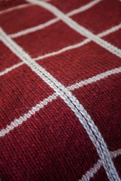 Plaid Afghan Knitting Patterns And Crochet Patterns From