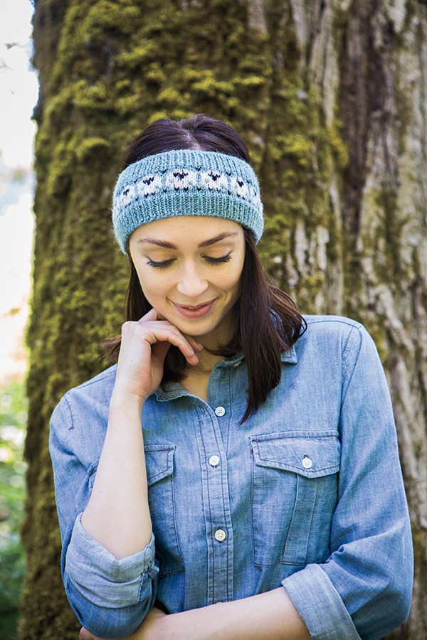 Happy Sheep Headband Knitting Patterns And Crochet
