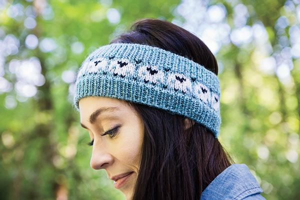 Happy Sheep Headband Knitting Patterns And Crochet