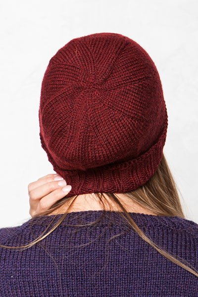 Knits For Everybody Top Down Hats Knitting Patterns And