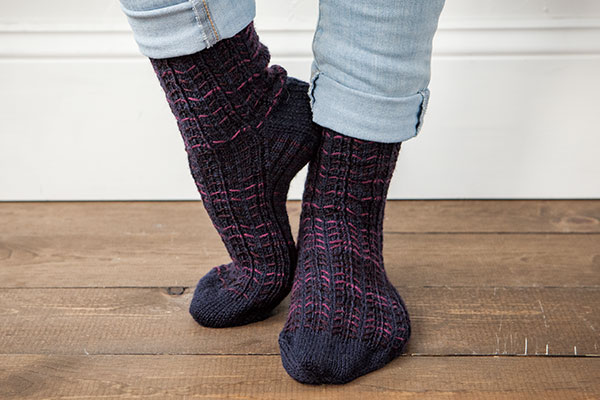 Easy Repeat Socks Knitting Patterns And Crochet Patterns From