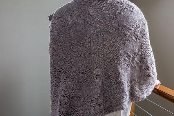 Opal Dawn Lace Wrap Knitting Patterns And Crochet Patterns From