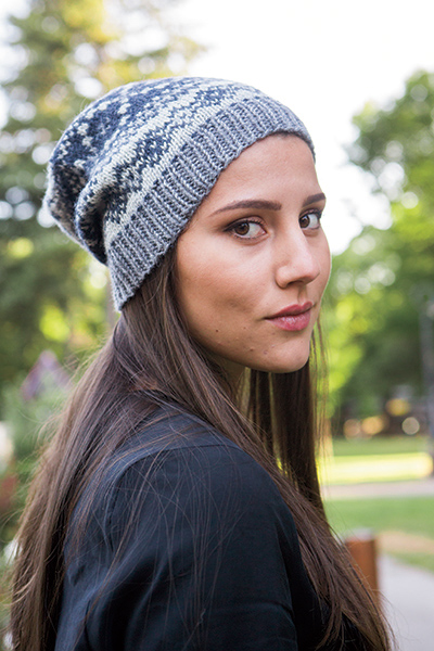 Telluride Slouch Hat Knitting Patterns And Crochet Patterns From