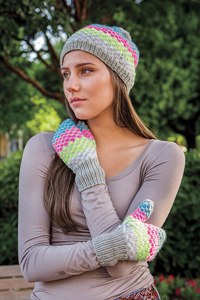 69a61cad1ce Simplicity Squared Hat   Mitts - Knitting Patterns and Crochet ...