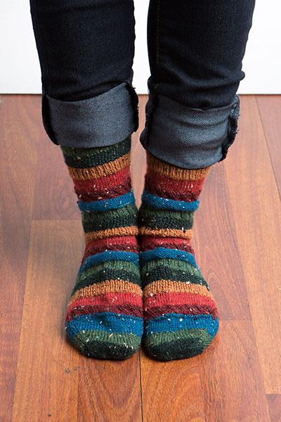 Sampler Socks Knitting Patterns And Crochet Patterns From