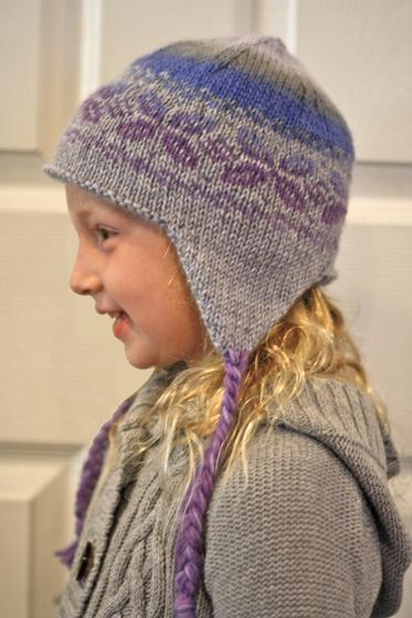 Easy Knitting Pattern Hat With Ear Flaps : Holiday Earflap Hat - Knitting Patterns and Crochet Patterns from KnitPicks.com