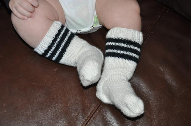 Baby Tubies Socks - Knitting Patterns and Crochet Patterns from KnitPicks.com