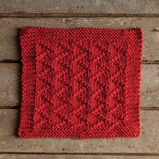 Zickzack Dishcloth - Knitting Patterns and Crochet Patterns from ...