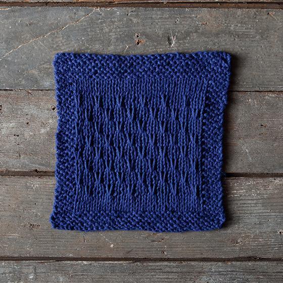 Double V Dishcloth - Knitting Patterns and Crochet Patterns from KnitPicks.com