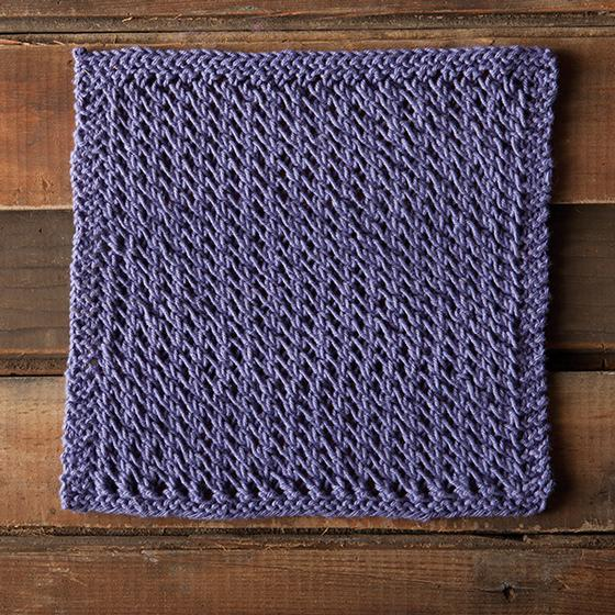 Lacy Spa Cloth - Knitting Patterns and Crochet Patterns from ...