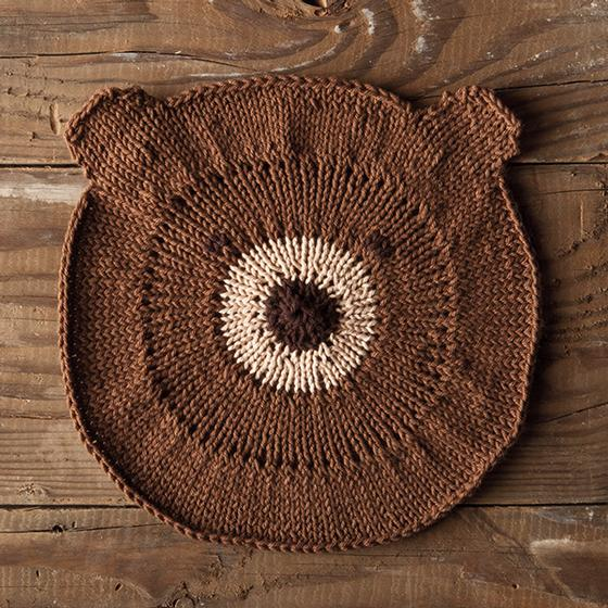 Bear With Me Dishcloth Knitting Patterns And Crochet Patterns From