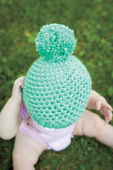 Bee Stitch Hat - Knitting Patterns and Crochet Patterns from KnitPicks.com