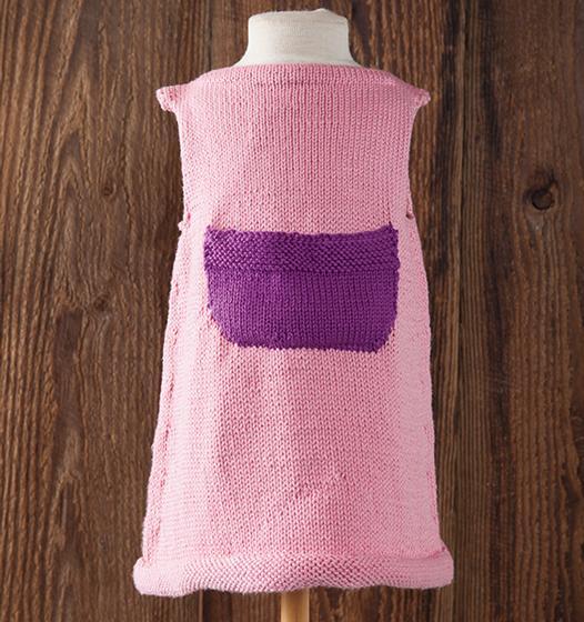 Hattie Child Dress Knitting Patterns And Crochet Patterns From