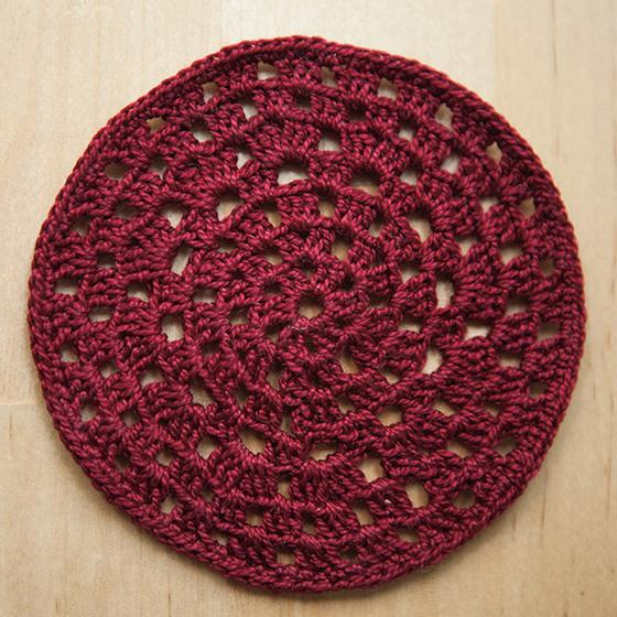Granny Circle Crochet Coasters Knitting Patterns And Crochet