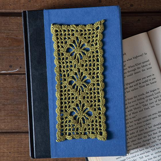 Spiderweb Lace Bookmark Knitting Patterns And Crochet Patterns
