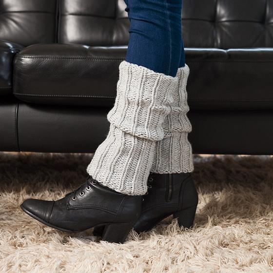 Chunky Legwarmers Knitting Patterns And Crochet Patterns From