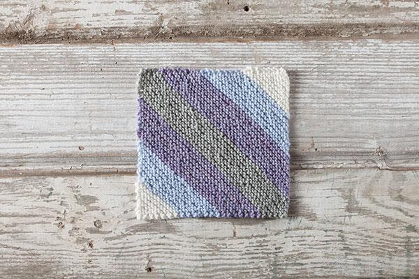 Kitty-Corner Knit Square - Knitting Patterns and Crochet ...