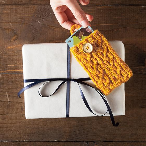 Pocket Aran Gift Card Holder - Knitting Patterns and ...