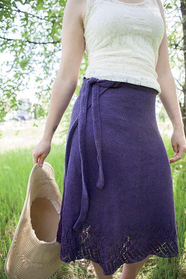 Wrap Around Skirt Knitting Patterns And Crochet Patterns