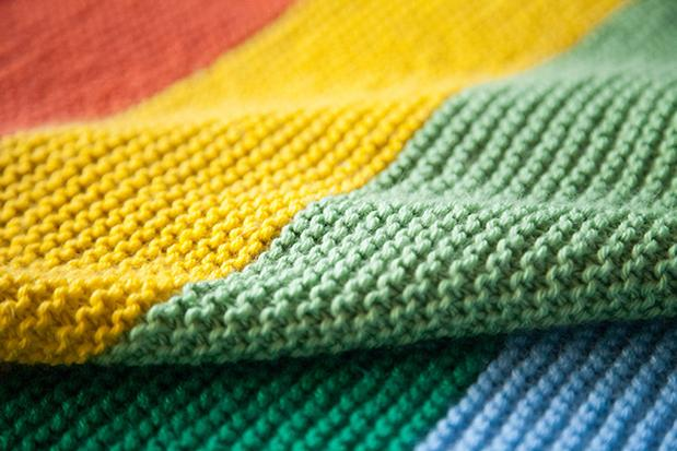 The Mighty Rainbow Blanket - Knitting Patterns and Crochet Patterns ...