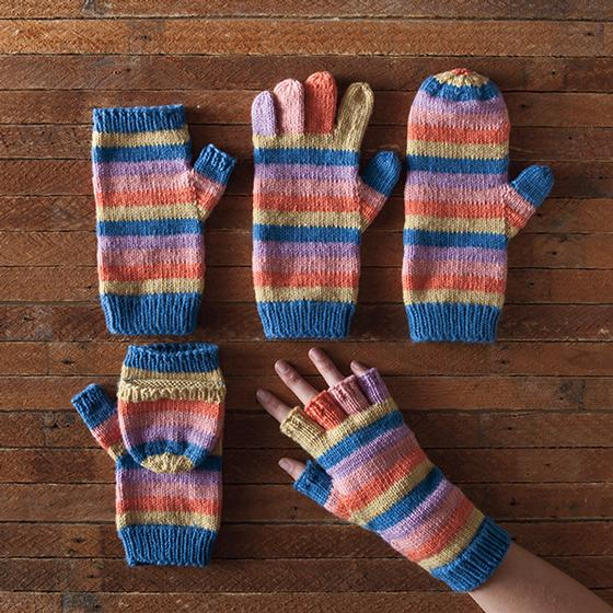 Line by Line Mittens - Knitting Patterns and Crochet ...