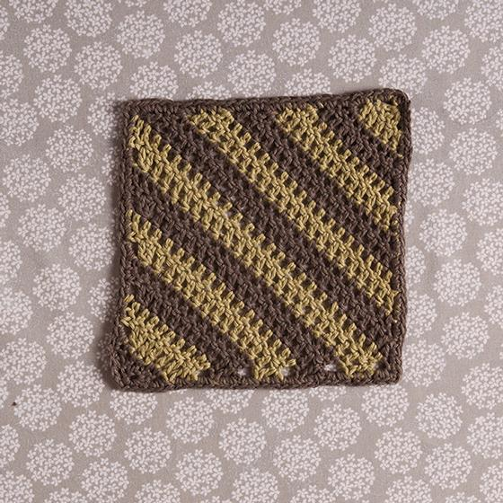 Diagonal Cloth Crochet Pattern - Knitting Patterns and Crochet ...