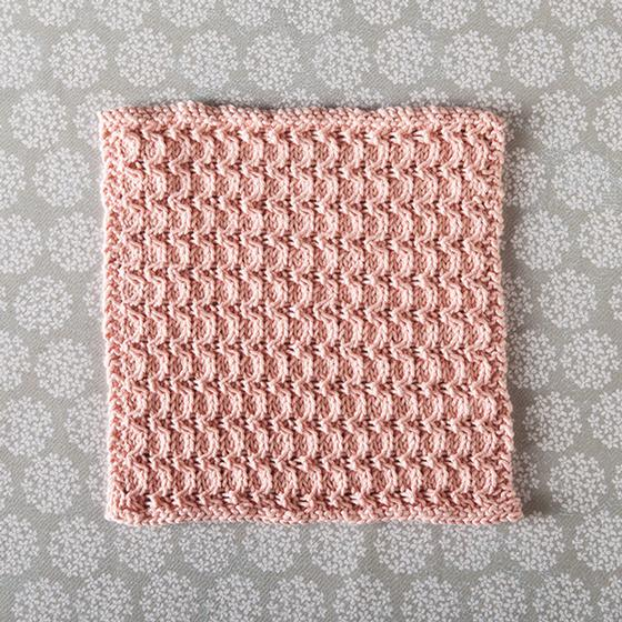 Zig Zag Dishcloth Knitting Patterns And Crochet Patterns From