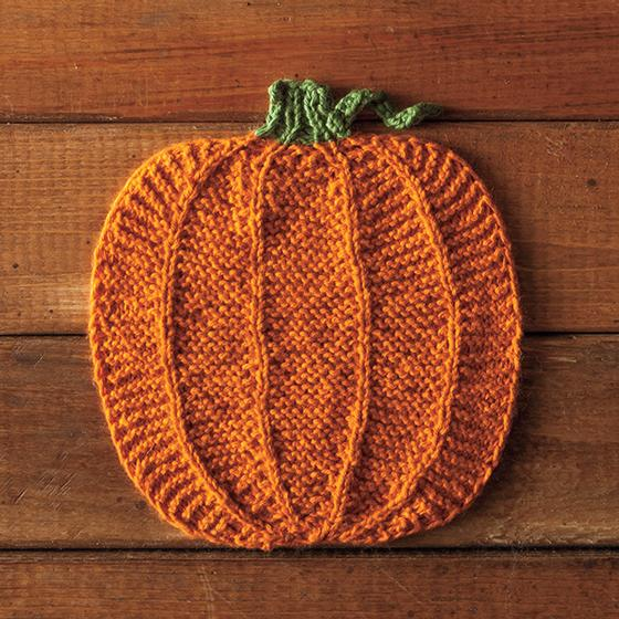 Pumpking Dishcloth - Knitting Patterns and Crochet Patterns from ...